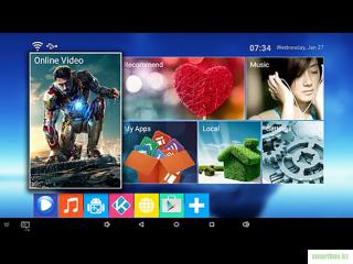 Android TV Box MXQ Pro 4K 1Гб/8Гб