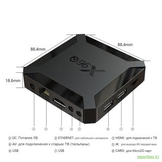 Android TV Box X96Q 2Гб/16Гб